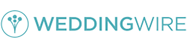 Weddingwire logo and link to review site